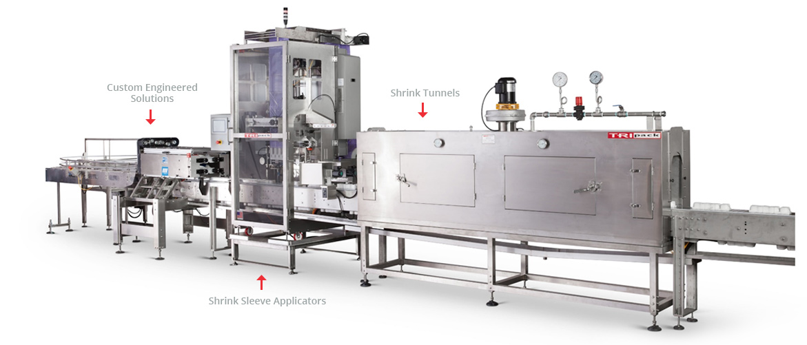 Shrink Sleeve Equipment | Shrink Sleeve Applicators & Tunnels For Custom Solutions